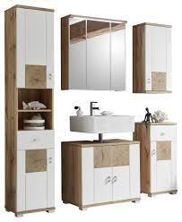badezimmer weiß eichefarben