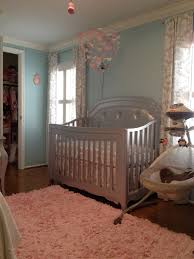 Joss And Main Edna Headboard by London U0027s Lovely Aqua Pink And Grey Nursery