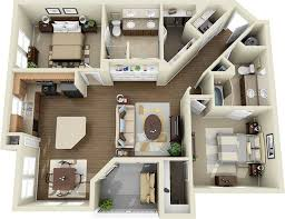 Simple Exquisite Cheap 3 Bedroom Apartments Stylish Beautiful 2