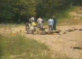 Investigators At The Crash Site