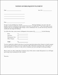 Sample Eviction Notice For Late Rent Download Them Or Print