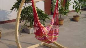Striking Wood Diy Hammock Chair Stand On Open Terrace With Inside Wooden Plan