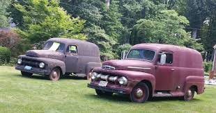 1951 Ford Panel Trucks - Three Of Them - Used Ford Other Pickups For ... Chevrolet Suburban Classics For Sale On Autotrader 1940 Gmc Panel Truck Classiccarscom Cc1018603 1957 Napco Civil Defense Super Rare 1958 Apache T150 Harrisburg 2016 Dans Garage Vans Campers Buses 1948 In Parkers Prairie Minnesota 194755 1956 Ford F100 Wallpapers Vehicles Hq 1959 Chevy Van Types Of 1950 3100 Pickup Frame Off Restoration Real Muscle Home Farm Fresh Sale Hemmings Motor News 55