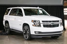 2018 Chevrolet Tahoe and Suburban RST First Look Motor Trend