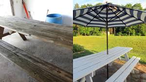 The Owl With The Goblet: Refinished Picnic Table Pnic Table Designs 2167 Accessible Pnic Table With Seats Fniture Alluring Ding Room And Bench Sets Chairs Walnut Ana White Pottery Barn Rustic Dinner Grey Home Design Excellent Indoor Large Reclaimed Oak Monastery Mobius Living Outdoor Made Kee Klamp Pipe Fittings Tables Amazing Nadeau Nashville Console Top Diy Rectangle With Umbrella Detached Patio Ideas Oversized Cushions Magnificent