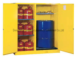 Flammable Liquid Storage Cabinet Requirements by Wall Mount Flammable Liquids Safety Cabinet With Three Shelves