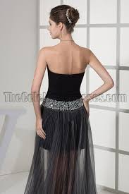 black sweetheart prom gown evening party dresses thecelebritydresses