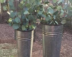 Rustic Tin Buckets