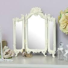 spiegel französisch schminktisch schminkspiegel shabby chic