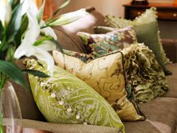decorating with pillows hgtv