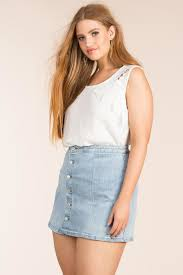 women u0027s plus size skirts button down a line mini skirt a u0027gaci