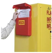 Flammable Safety Cabinet 45 Gal Yellow by Msds Documents Storage Box For Your Security