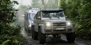 Check Out 'Jurassic World's' Monster Mercedes SUV With 6-wheels ... Mercedesbenz G 550 4x4 What Is A Portal Axle Gear Patrol Mercedes Benz Wagon Gpb 1s M62 Westbound Uk Wwwgooglec Flickr Amg 6x6 Gclass Hd 2014 Gwagen 6 Wheel G63 Commercial Carjam Tv Lil Yachtys On Forgiatos 2011 Used 4matic 4dr G550 At Luxury Auto This Brandnew 136625 Might Be The Worst Thing Ive Driven Real History Of The Gelndewagen Autotraderca 2018 Mercedesmaybach G650 Landaulet First Ride Review Car And In Test Unimog U 5030 An Demonstrate Off Hammer Edition Chelsea Truck Company Barry Thomas To June 4 Wagon Grows Up Chinese Gwagen Knockoff Is Latest Skirmish In Clone Wars