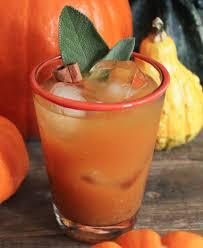 Kahlua Pumpkin Spice Martini Recipe by Spiced Pumpkin Punch Recipe Spiced Pumpkin Bourbon And Beverage