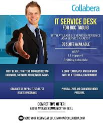 Front Desk Agent Salary Philippines by Collabera Philippines Home Facebook