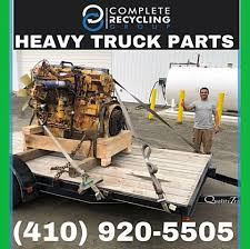 100 Maryland Truck Parts Complete Recycling Group Waste Management Company North East