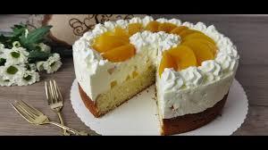 schnelle pfirsich torte sommer torte p s backparadies