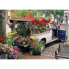 1000 Piece City Collection Flowers For Sale Advanced Jigsaw Puzzle