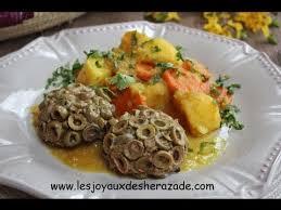 cuisines algeriennes cuisine algerienne viande hachée moulée aux olives متبل بالزيتون