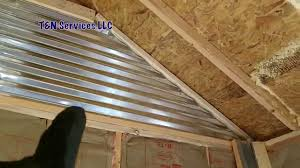 12 X 20 Modern Shed Plans by How To Build A 12x20 Shed Part3 Walls U0026 Insulation Youtube