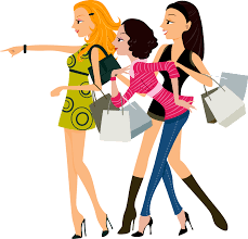Fashion Clipart Going Shopping 8