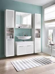 leicester badezimmer set 4 teilig hochglanz weiß günstig möbel küchen büromöbel kaufen froschkönig24