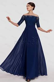dark blue prom dresses with sleeves naf dresses