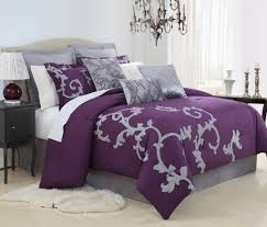 Purple Velvet King Headboard by Bedroom Stylish California King Bedding For Contemporary Bedroom
