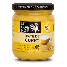 pate de curry le coq noir
