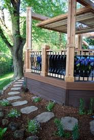Metal Deck Skirting Ideas by Skirting Deck Picture Gallery Deck Skirting Pinterest Deck