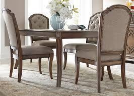 liberty furniture amelia dining 5 piece rectangular table with 16