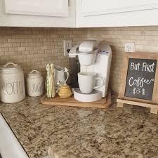 Top Corner Kitchen Cabinet Ideas by Best 25 Coffee Corner Kitchen Ideas On Pinterest Keurig Station