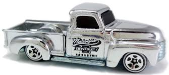100 52 Chevy Truck D Hot Wheels Newsletter