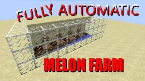 Pumpkin Farm Minecraft Observer by Fully Automatic Melon Pumpkin Farm Minecraft 1 12 Tutorial Youtube