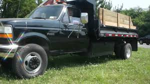 SOLD~~1995 Ford F450 Super Duty 7.3L Diesel Mason Dump Truck For ...
