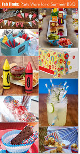 Backyard Bbq Decoration Ideas by Light Up The Grill A Summer Bbq Party Kids Will Love Picnics