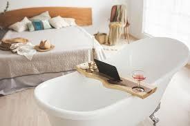 badezimmer tablett badewanne tablett holz bad regal live edge tablett nussbaum tablett badewanne caddy holz bad tablett bad board tablett