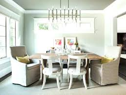 Transitional Dining Room Chandelier In Nickel From Rectangle Shape Of The Light Fixture Works Well Chandeliers