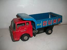 YONEYA Japan Toy Tin Litho Friction 1950s Ford C-600 Dump Truck No 6 ... Funrise Tonka Steel Trucks Cstruction Durable Classic Building Buddy L Big Bruiser Dump Tipper Truck Sounds On Ebay Youtube Structo Hydraulic Table Lamp Wedison Bulb By Twoawesum2 Tarp Ebay Dosauriensinfo 1966 Gmc 2 12 Ton Dump Truck 1930 Buddy Bgage For Sale Vintage 1960s 60s Red Toys Tough Quarry 92207 1960 Truckvintagered And Green All Original Sturditoy Oil Tanker