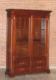 barock wohnzimmer schrank vitrine column