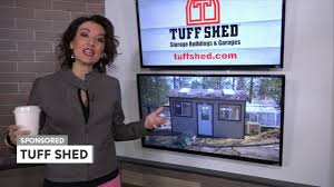 Tuff Shed Home Depot Display by Abc10 Tuff Shed Live 9 21 17 Youtube