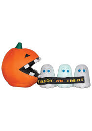 The Runaway Pumpkin by Check Inflatable Runaway Ghost And Pumpkin Awesome The Good Shop
