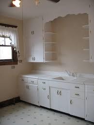 1910s Kitchen Vintage 1920 Cabinets 1920s Sink Floor Tile Flooring