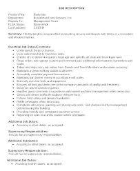 Restaurant Waiter Resume Best Resume Template Whizzme