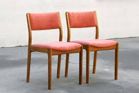 SOLD - Pair Of Danish Modern Teak Dining Chairs - Rehab Vintage ... Danish Midcentury Modern Rosewood And Leather Ding Chairs Set Of Scdinavian Ding Chairs Made Wood Rope 1960s 65856 Mid Century Teak Seagrass Style Layer Design Aptdeco 6 X Style Room Chair 98610 Living Room Fniture Replica Wooden And Rattan 2 68007 Pad Lifestyle Herringbone Sven Ding Chair Sophisticated Eight Brge Mogsen In Vintage Market Weber Chair Weberfniturecomau Vintage Danish Modern