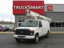 2012 FORD E350 SUPER DUTY BUCKET BOOM TRUCK FOR SALE #11096