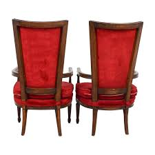 79% OFF - Vintage Red Tufted High Back Accent Chairs / Chairs Pair Of Italian Vintage Highback Chairs 1980s Ding Room High Back Chairs Kallekoponnet Amazoncom Vidaxl Luxury Chair Tufted Queen Anne Style Upholstered Wing For Sale At 1stdibs 4b In 2019 Back Btexpert 24 Industrial Clear Metal Antique Stools Brown With Vintage Style Frame Teak Wood High Center Table Hot Item Fniture Straight Purple Dollhouse Farmhouse Rustic Zen Zoom Beautiful Set Ten 20th