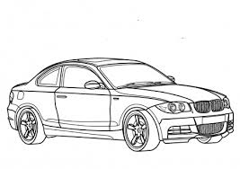 Coloring Pages For Boys Cars Bmw