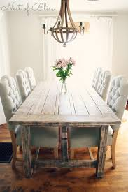 Awesome Farm Dining Room Table And Chairs Farmhouse Plan