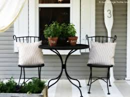 Patio Curtains Outdoor Plastic by Our Vintage Home Love Back Side Porch Ideas For Summer And An